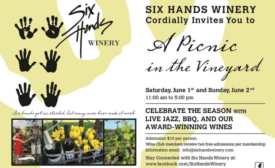 Six Hands Winery Picnic in the Yard 2019