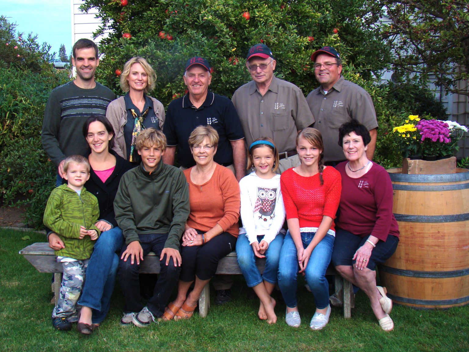 The Marks Family - Six Hands Winery